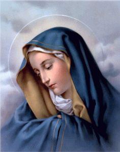 Sainte Marie, Mère de Dieu, Gardez-moi un coeur d'enfant, Pur et transparent comme une source ; Obtenez-moi un coeur simple, Qui ne savoure pas les tristesses ; Un coeur d'enfant magnif…