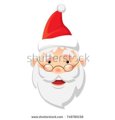Santa Claus icon. Santa Claus flat vector illustration. Stock photography, images, pictures, Illustrations, ideas. Download vector illustrations and photos on Shutterstock, Istockphoto, Fotolia, Adobe, Dreamstime