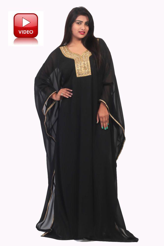 DUBAI VERY FANCY KAFTANS/ abaya jalabiya Ladies Maxi Dress Wedding gown nikkah…