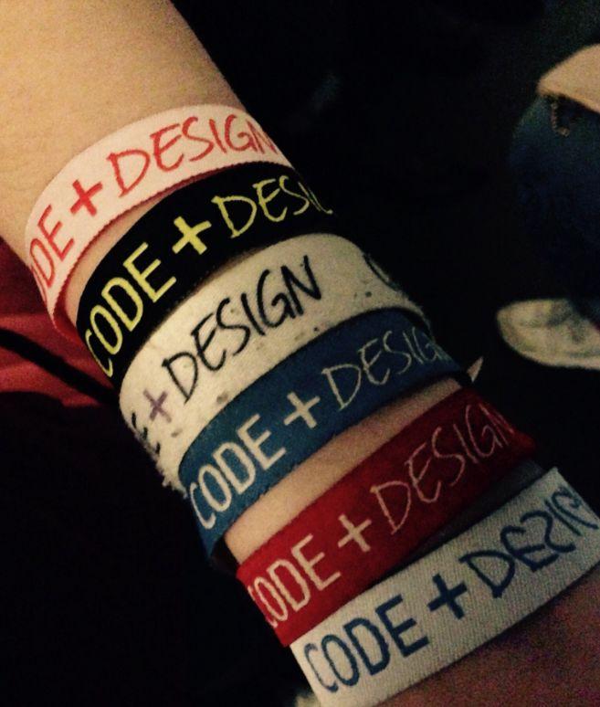 Das muss Liebe sein - viele Teilnehmer waren nicht zum ersten Mal beim Code + Design Camp dabei #cdcamp17
