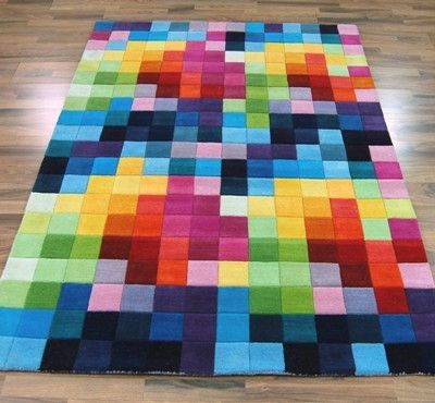 Funky Rug Waaaaannt Funk Multi Image 1 From Modernrugs Co Uk