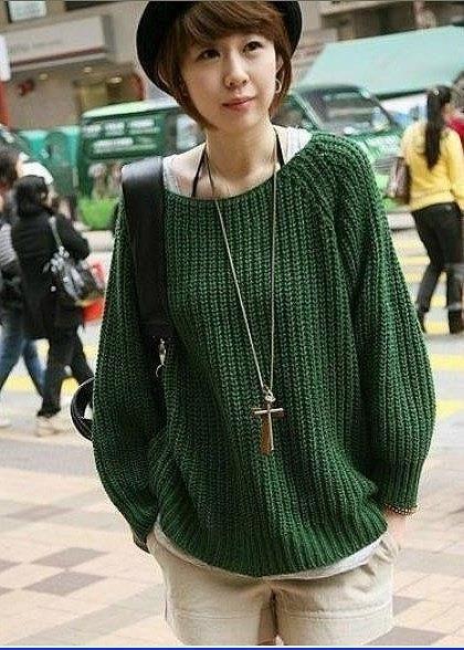 Купить мужские свитера объемной вязки