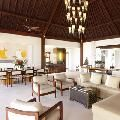 A pure luxury villas unfolds 2 levels and spread across 30 areas of land.