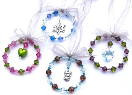 Beaded Christmas Ornaments