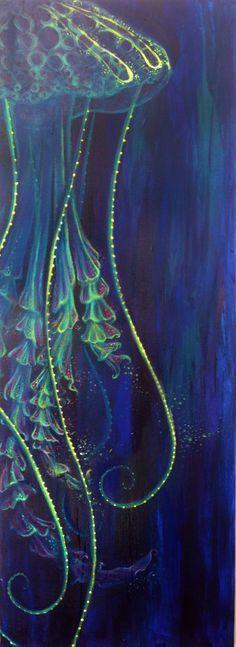 Jellyfish by http://tikallyn.deviantart.com on /deviantart/