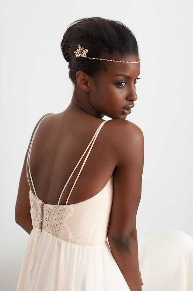 Bridal Hairstyle With Rose : 35 best trend: rose gold images on pinterest