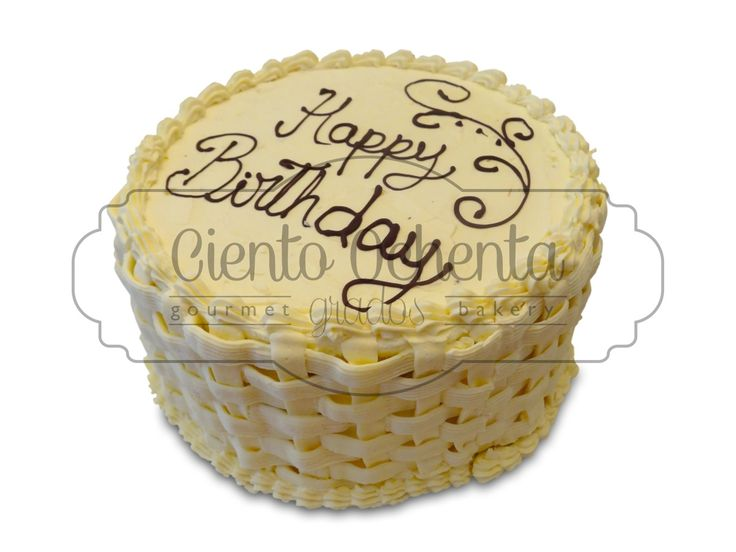 Basket weave, Birthday cake