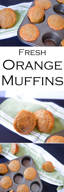 Low Fat Fresh Carrot + Orange Muffins - Healthy Recipe w. Nonfat Greek Yogurt + Less Sugar #LMrecipes #muffins #healthy #greekyogurt #mealprep #makeahead #healthy #foodblog #foodblogger