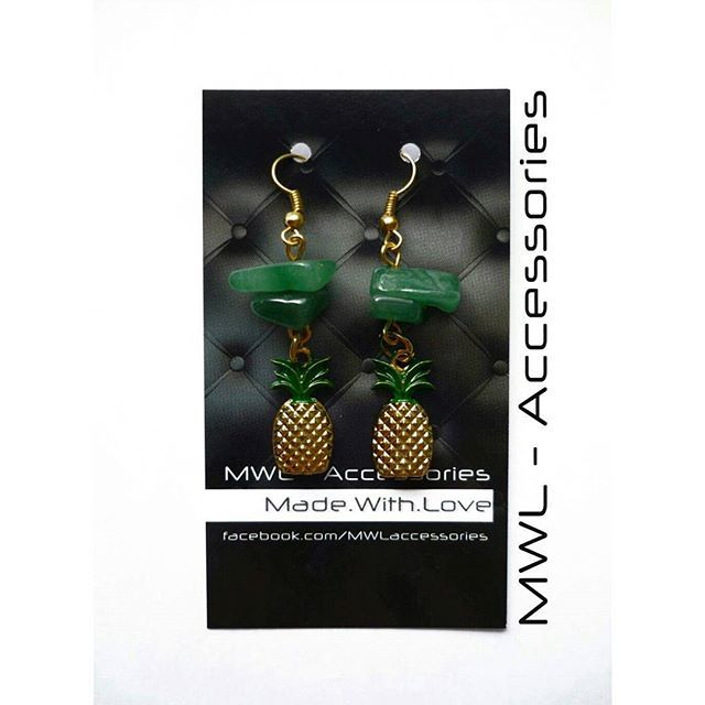 Pineapple earrings https://www.facebook.com/MWLaccessories/photos/a.394930460565817.82874873.394919353900261/933891056669752/?type=1&theater