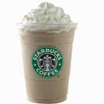 Starbucks White Chocolate Mocha Frappunccino