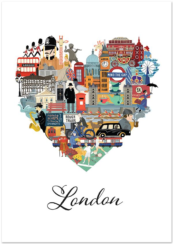 Love London on Behance