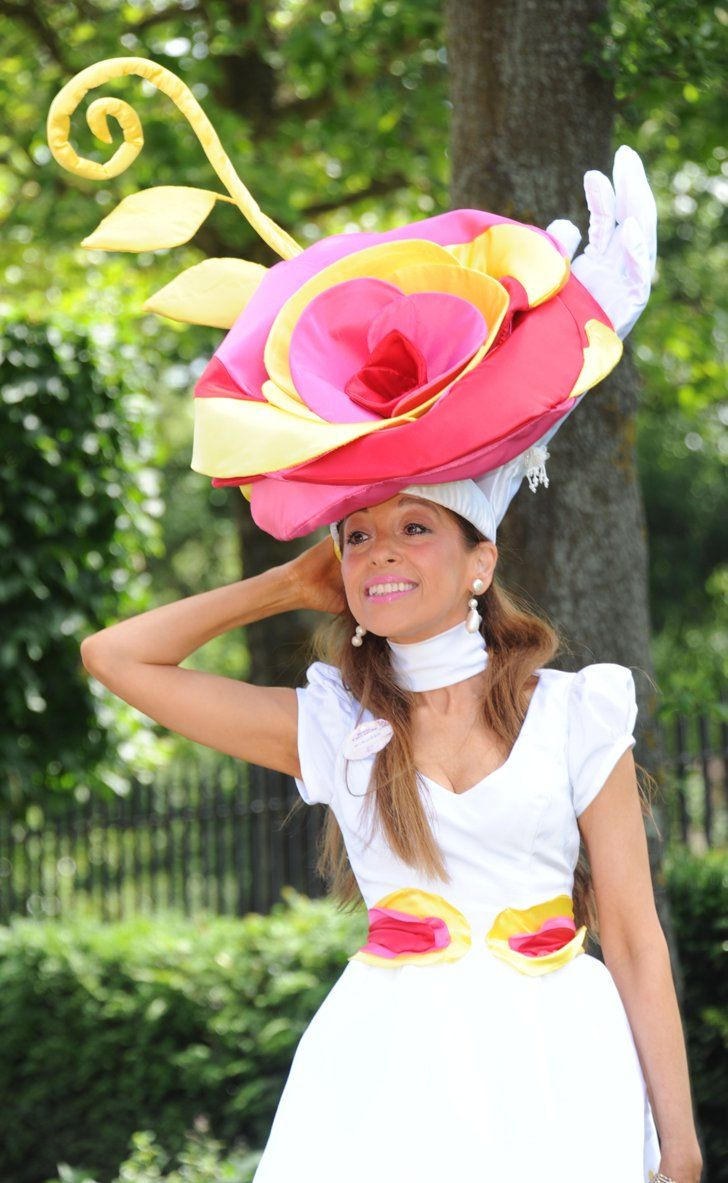 Pin for Later: Every Day Should be Ladies' Day at Royal Ascot Tracy Rose at Royal Ascot 2014
