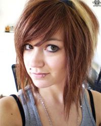 """It's sad that my favorite hairstyles are found by searching """"emo short scene hair"""" -__-"""