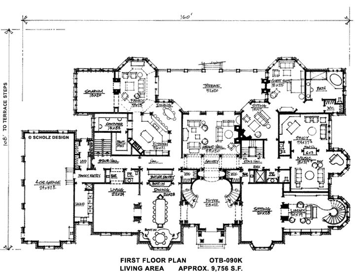 Marvelous Mansion Home Plans. 995 best Floorplans images on Pinterest