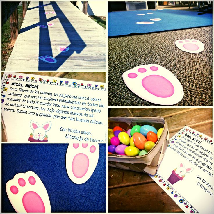 Is the Easter bunny paying your classroom a visit? Here's a letter freebie directly from him to your students! Spanish version is also included.