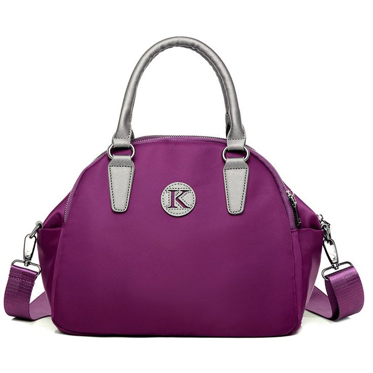 High Quality Oxford Bags Handbags Women Famous Brand Messenger Bags Casual Small Travel Bags Nylon Shoulder Crossbody Bag Purple