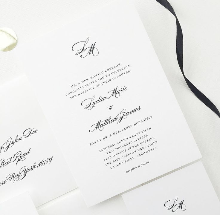 avery address labels wedding invitations%0A Lydia Wedding Invitations   Wedding Invites by August and White