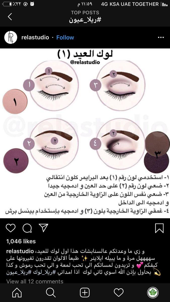Pin By Yosha On دروس مكياج Eye Makeup Art Eye Makeup Makeup Art