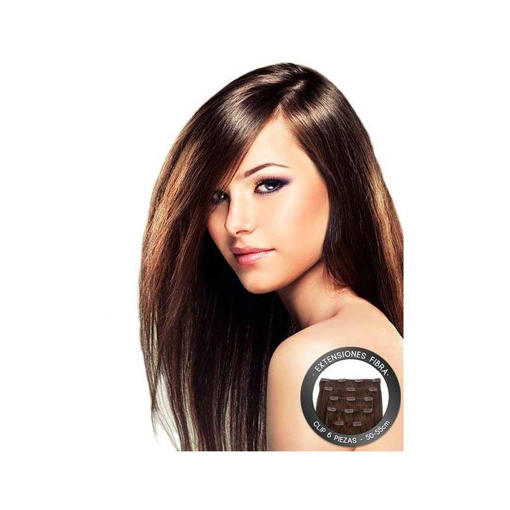 Extensiones de fibra tan bonitas como las de pelo natural... y mucho más baratas! www.tricovalcosmeticos.es