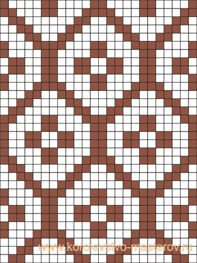 Tapestry crochet pattern