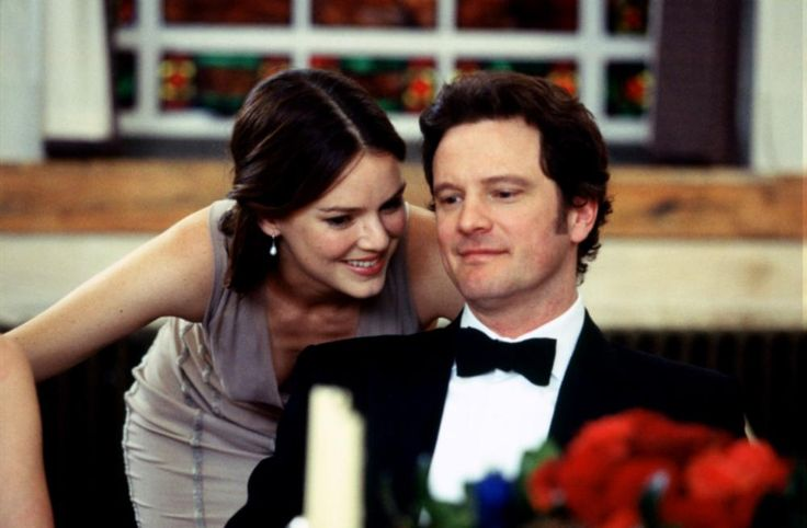 BRIDGET JONES: THE EDGE OF REASON, Jacinda Barrett, Colin Firth, 2004 | Essential Film Stars, Colin Firth http://gay-themed-films.com/film-stars-colin-firth/