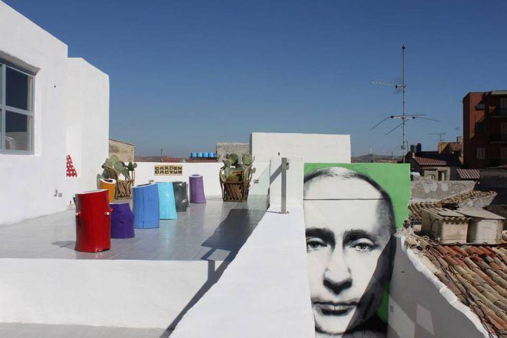 Flavio e il suo Putin #streetart