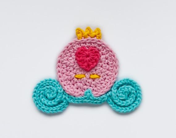 72 besten Crochet Appliques Bilder auf Pinterest | Stricken häkeln ...