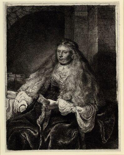 Rembrandt Harmensz. van Rijn, Die große jüdische Braut, 1635 © Albertina, Wien #Weltfrauentag #InternationalWomensDay #IWD #IWD2015