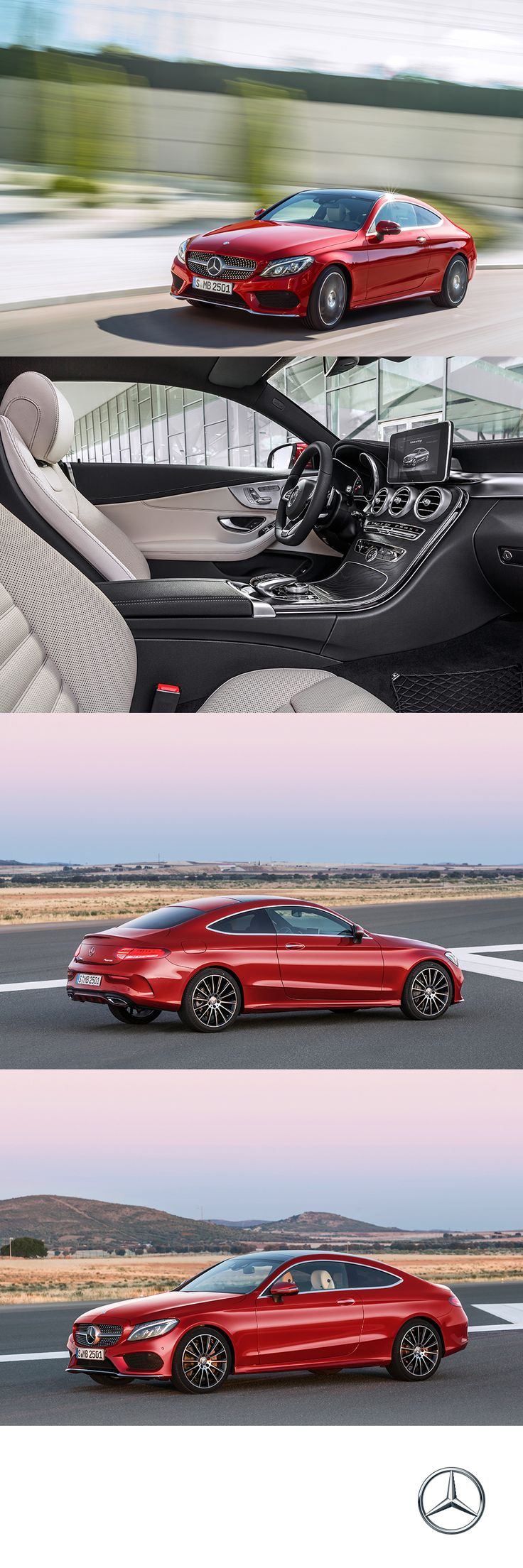 With looks that thrill and the performance to match, the C-Class Coupe is a sight for more eyes.