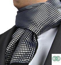 Designer Men's Silk Scarves | New Mens Smart Casual Twin Scarves Silk Cashmere Italian Designer ...