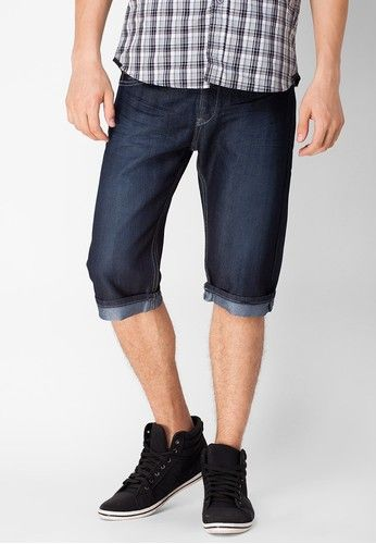 #Gwen #Embroidered #Denim #Shorts for #Men #Fashion with 34% #Discount at #Zalora