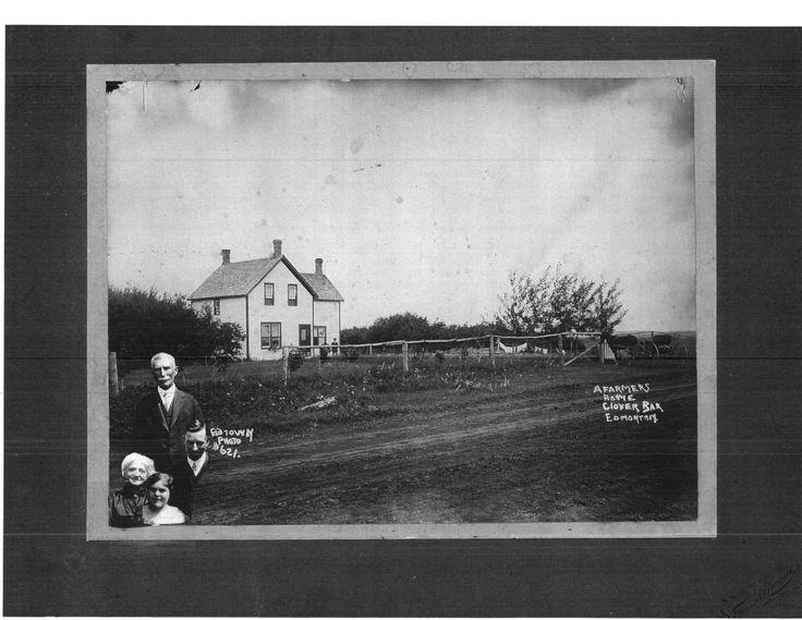 Thomas Jackson, original homestead, Clover Bar, Alberta
