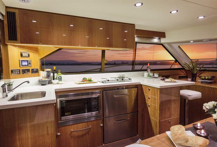Riviera 43 Open Flybridge Galley