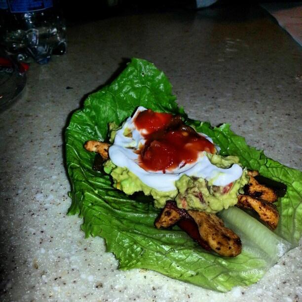 #NOFILTERJUSTDELICIOUS: Chicken Fajita Lettuce Cups & Holy Moly Guacemole