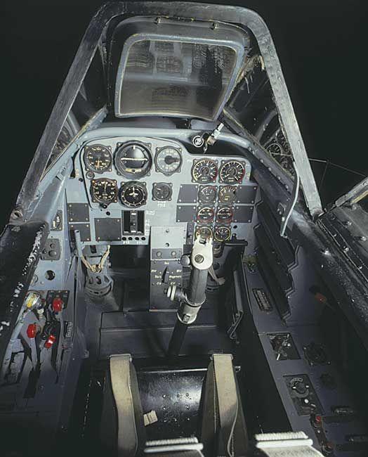 Messerschmitt Me 262 Cockpit