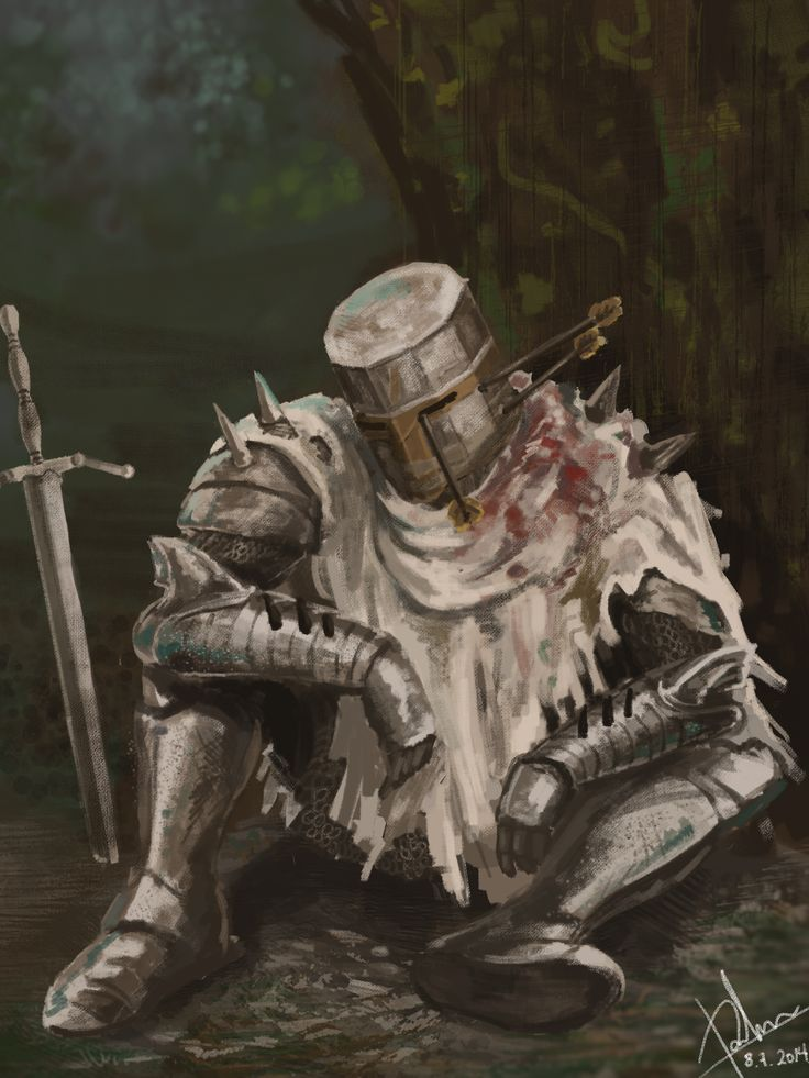 Dark Souls 2: Heide Knight by SharkAlpha on deviantART