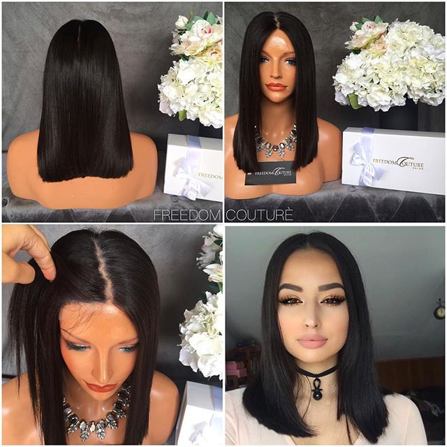 """#AvailableForPurchase    Bob Life    Contact freedomcouture@hotmail.com with this picture for instant purchase   Specification  22"""" Cut into a bob for thick blunt cut, Full Lace unit hand made, Transperant invisible lace, Custom Hair line + baby hairs, Elasic band + clips,  $ 985 Aus 743 Usd 526 Gbp"""