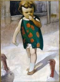 Image result for paintings of children by contemporary artists