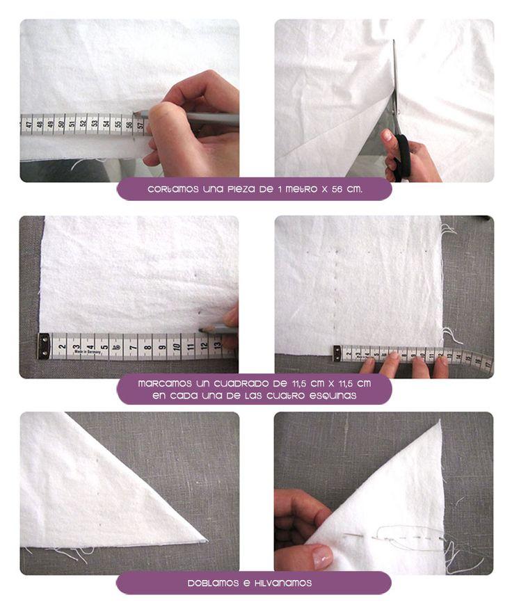 sabanas moises DIY 1 Cómo hacer un juego de sábanas para moisés o cochecito #DIY