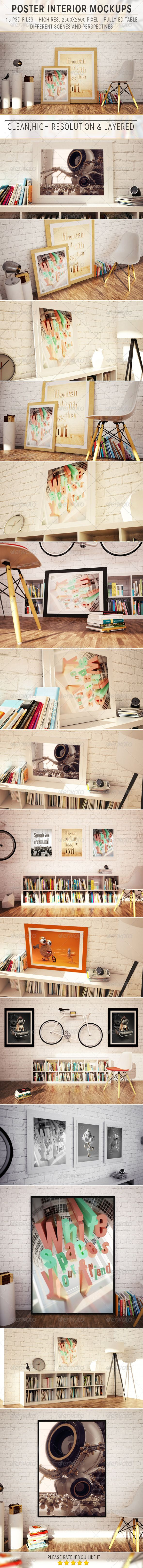 Picture Poster Mockup - Posters Print