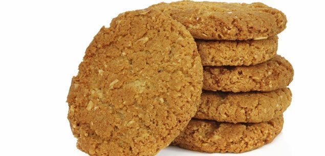 This is the recipe we made in class but this one makes about 30 biscuits.  Anzac biscuits are easy to make and taste great! Enjoy this traditional biscuit on Anzac Day or any other day of the year.