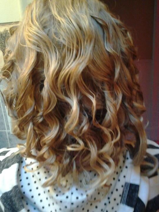 Tin foil curl