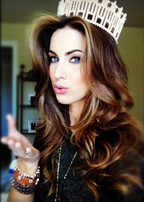 beauty queen big hair