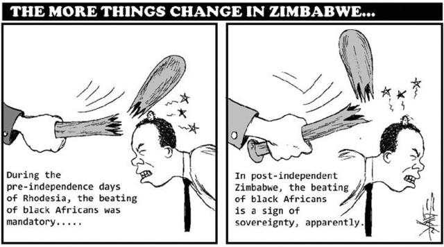 Political change in Zimbabwe...: Zimbabwe, Political Change, News, Humor
