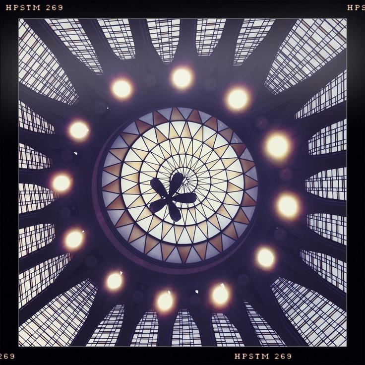 La cupola della Banca Popolare di Milano