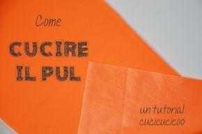 Come cucire il PUL (tessuto laminato per strati impermeabili in pannolini e assorbenti lavabili, borse impermeabili e tappetini da cambio)   www.cucicucicoo.com