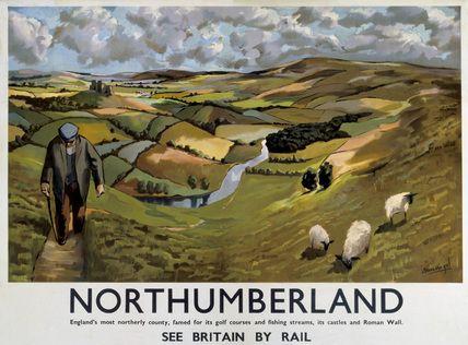 Vintage UK Railway Posters