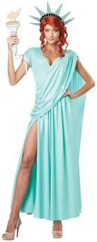 PartyBell.com - Lady Liberty Adult Costume
