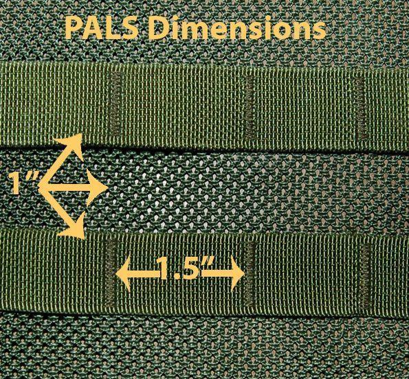 PALS Dimensions | DIY Tactical