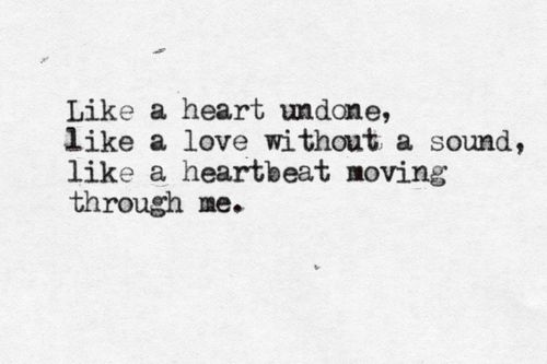 heartbeat moving | through me | the virtual typewriter